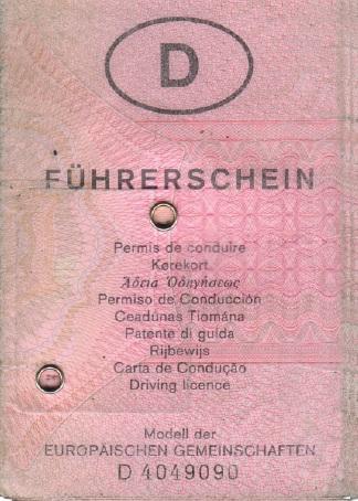 Führerschein Im Alter Abgeben